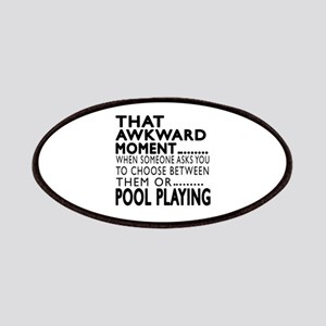 Pool Playing Awkward Moment Designs Patch