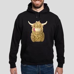 Happy Highland Cow Hoody