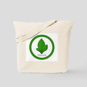 vegan symbol Tote Bag