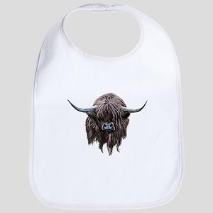 Scottish Highland Cow Bib