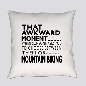 Mountain Biking Awkward Moment Des Everyday Pillow