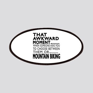 Mountain Biking Awkward Moment Designs Patch