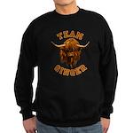 Team Ginger Scottish Highland Co Sweatshirt (dark)