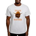 Team Ginger Scottish Highland Cow Light T-Shirt