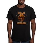Team Ginger Scottish H Men's Fitted T-Shirt (dark)