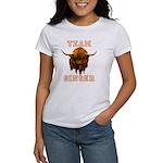 Team Ginger Scottish Highland Cow Women's T-Shirt