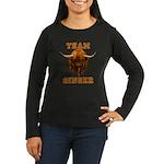 Team Ginger Scott Women's Long Sleeve Dark T-Shirt