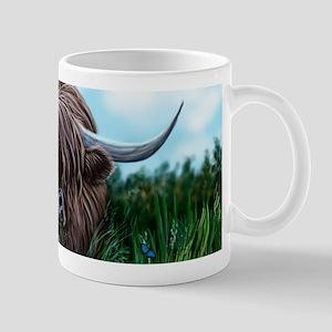 Scottish Highland Cow Painting Mugs
