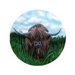 Scottish Highland Cow Painting 3.5