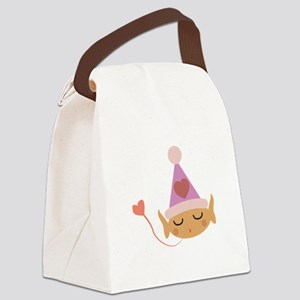 Love Elf Canvas Lunch Bag