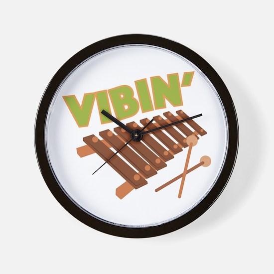Xylophone Vibin Wall Clock
