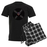 Scottish Highland Cow Moohemia Men's Dark Pajamas