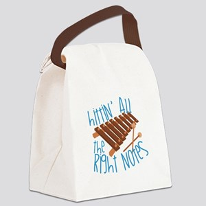 All Right Notes Canvas Lunch Bag