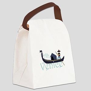 Ah, Venice! Canvas Lunch Bag