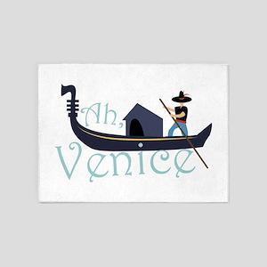Ah, Venice! 5'x7'Area Rug