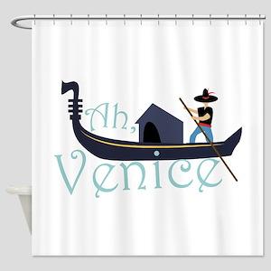 Ah, Venice! Shower Curtain