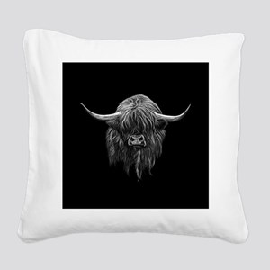 Wee Hamish Square Canvas Pillow