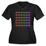 Rainbow Herd Plus Size T-Shirt
