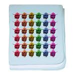 Rainbow Herd baby blanket