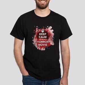 Keep Calm Horror Movie T-Shirt