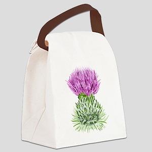 Bonnie Thistle Canvas Lunch Bag
