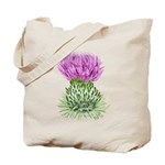 Bonnie Thistle Tote Bag