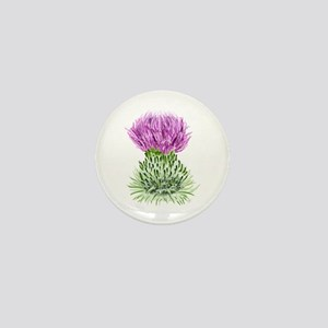 Bonnie Thistle Mini Button