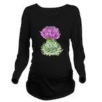 Bonnie Thistle Long Sleeve Maternity T-Shirt