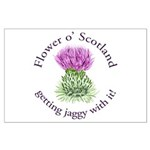 Jaggy Thistle Posters