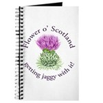 Jaggy Thistle Journal