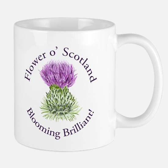 Blooming Thistle Mug Mugs