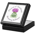Blooming Thistle Keepsake Box