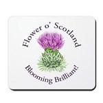 Blooming Thistle Mousepad