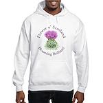 Blooming Thistle Hooded Sweatshirt