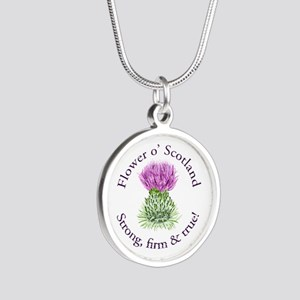Scottish Thistle Necklaces