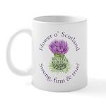 Scottish Thistle Mug Mugs