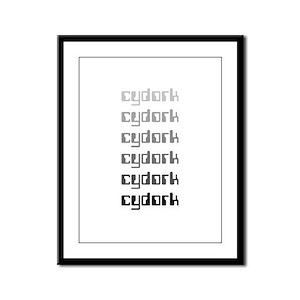 Cydork Framed Panel Print