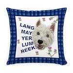 Lang May Yer Lum Reek! Everyday Pillow