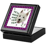 Westie Wisdom Keepsake Box