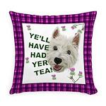 Westie Wisdom Everyday Pillow