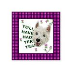Westie Wisdom Sticker