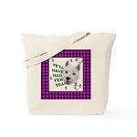 Westie Wisdom Tote Bag