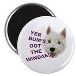 Wee Westie's Wisdom Magnets