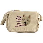 Wee Westie's Wisdom Messenger Bag