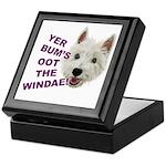 Wee Westie's Wisdom Keepsake Box