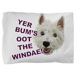 Wee Westie's Wisdom Pillow Sham
