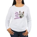 Wee Westie's Wisdom Long Sleeve T-Shirt