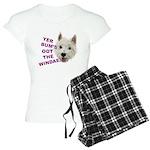 Wee Westie's Wisdom pajamas