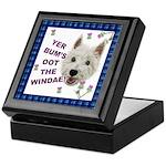 Wee Westie Words of Wisdom Keepsake Box