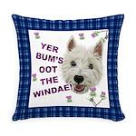Wee Westie Words of Wisdom Everyday Pillow